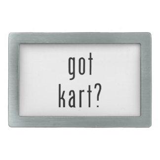 got kart? Belt Buckle - Rectangular