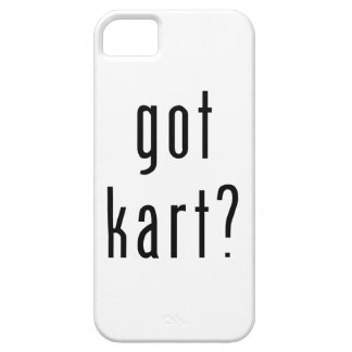 got kart? Phone Case Barely There iPhone 5 Case