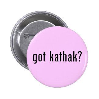 got kathak? 6 cm round badge