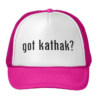 got kathak? trucker hats