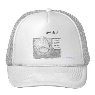 """""""got ki ?"""" Ball Cap Trucker Hat"""
