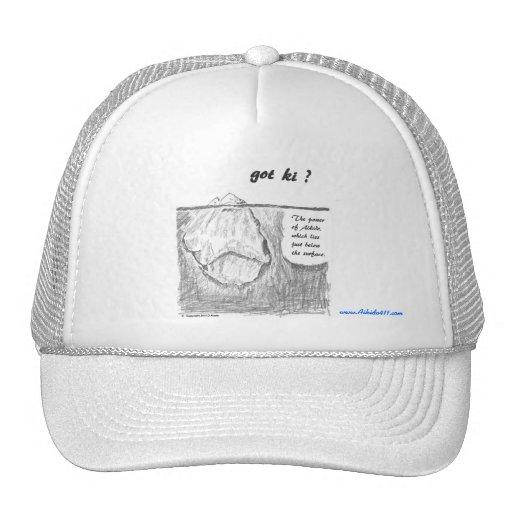 """""""got ki ?"""" Ball Cap Hats"""