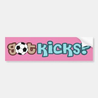 Got Kicks? Bumper Sticker