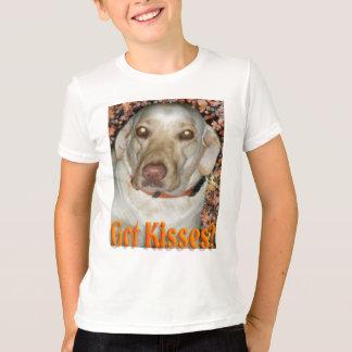 Got Kissess Yellow Lab T-Shirt