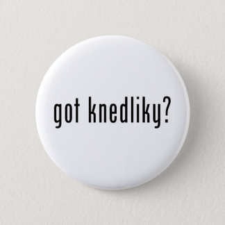 got knedliky? 6 cm round badge