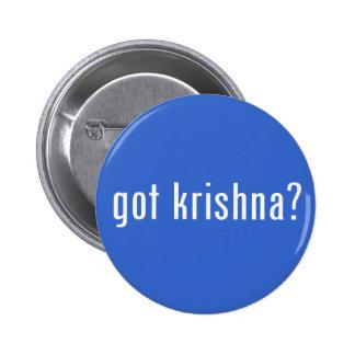 got krishna? 6 cm round badge