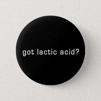 Got Lactic Acid? Funny Running Design 6 Cm Round Badge