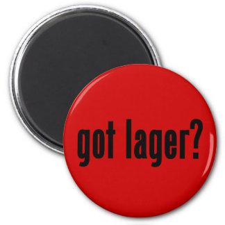 got lager fridge magnet
