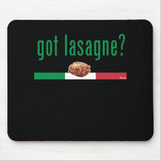 Got Lasagne GREEN Mouse Pad