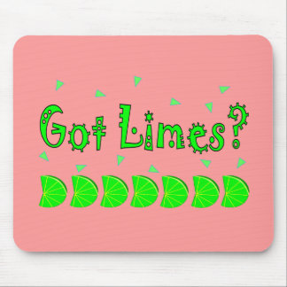 Got Limes Confetti Lime Lovers Shirts Gifts Mouse Mats