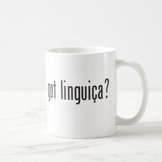 got linguica? basic white mug