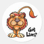 Got Lion Stickers
