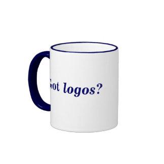 Got logos? sml blue ringer mug (right-hand)