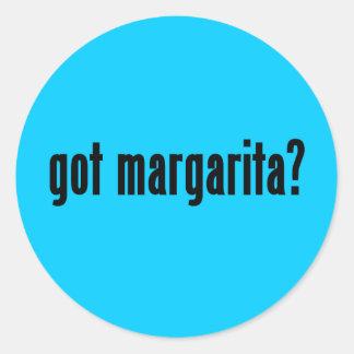 got margarita? classic round sticker