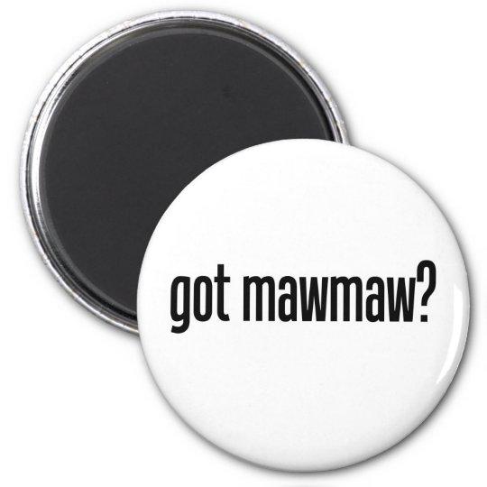 got mawmaw 6 cm round magnet