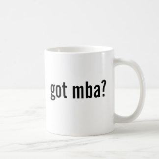 got mba? coffee mug