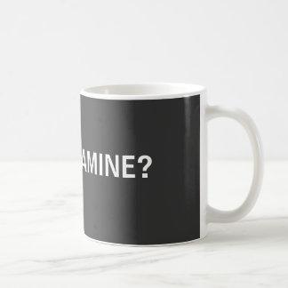GOT MELAMINE? BASIC WHITE MUG