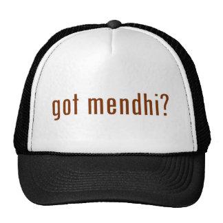 got mendhi? trucker hat