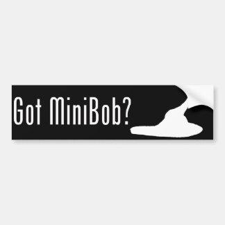 Got MiniBob? Bumper Sticker