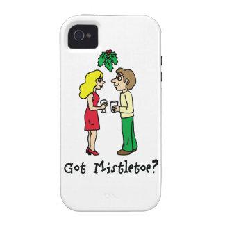 Got Mistletoe Holiday iPhone 4 Cases