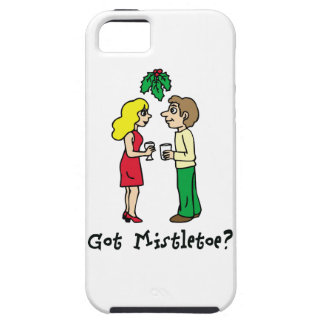Got Mistletoe Holiday iPhone 5 Cover