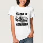 Got Modified? Dirt Modified Racing Tshirt