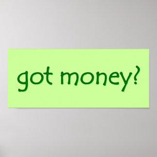 got money? Sign