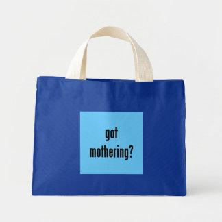 got mothering? mini tote bag