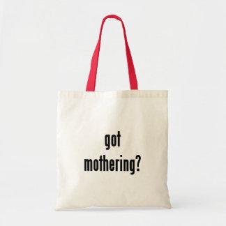 got mothering? budget tote bag