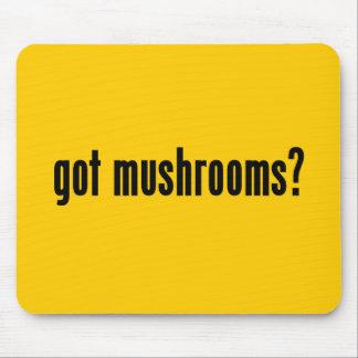 got mushrooms mousepads