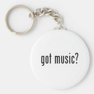 got music? keychain