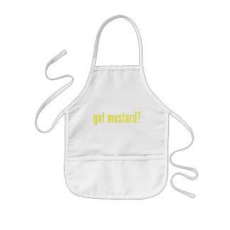 got mustard? kids apron