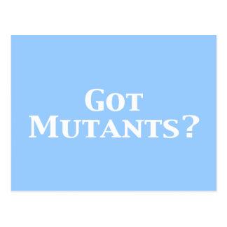 Got Mutants Gifts Postcard