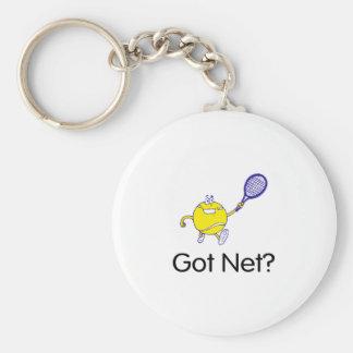 Got Net? (Tennis) Basic Round Button Key Ring