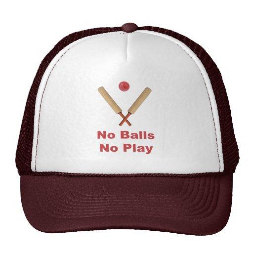 Got No Balls Play Cricket Mesh Hat