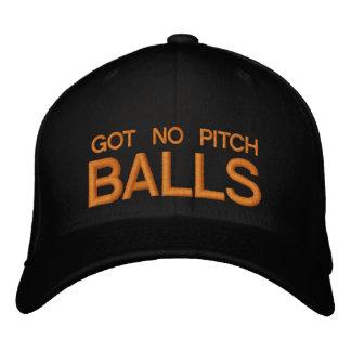 GOT NO PITCH BALLS - CAP by eZaZZleMan.com Embroidered Baseball Cap