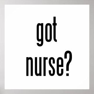 got nurse? poster