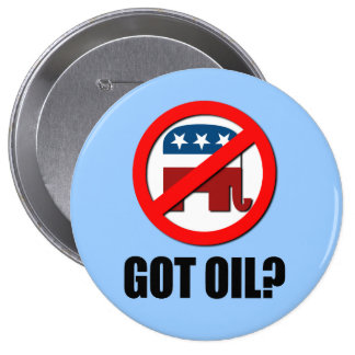 Got Oil 10 Cm Round Badge