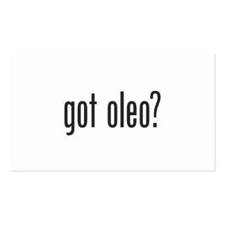 got oleo business card templates