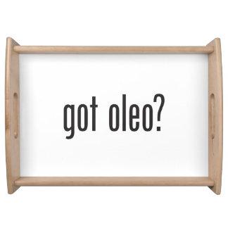got oleo service trays