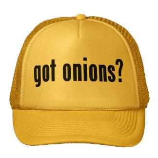 got onions? trucker hat