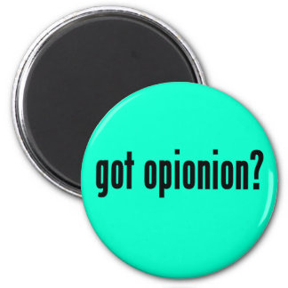 got opinion? 6 cm round magnet