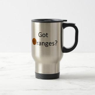 Got Oranges Travel Mug