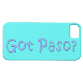Got Paso? iPhone 5 Case