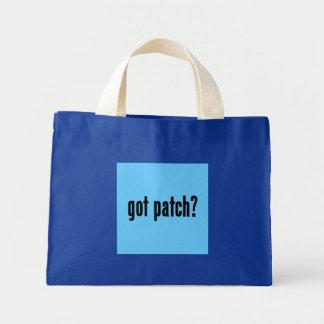 got patch? mini tote bag