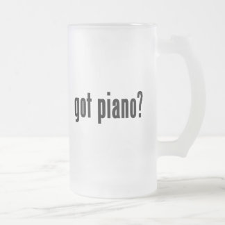 got piano? mug