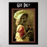 Got Pie? Poster