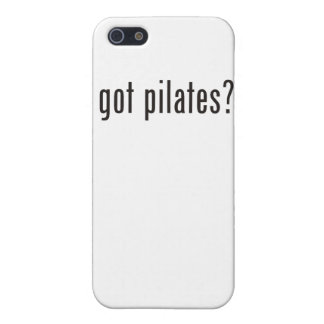 got pilates? iPhone 5/5S cover