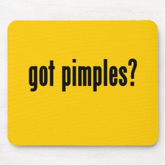 got pimples mousepad