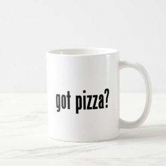 got pizza? coffee mug